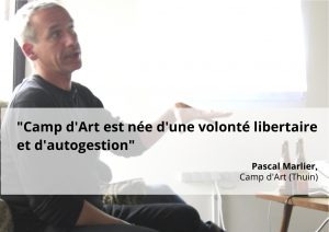 Camp d'Art à Co-nnexion - Coworking Mons